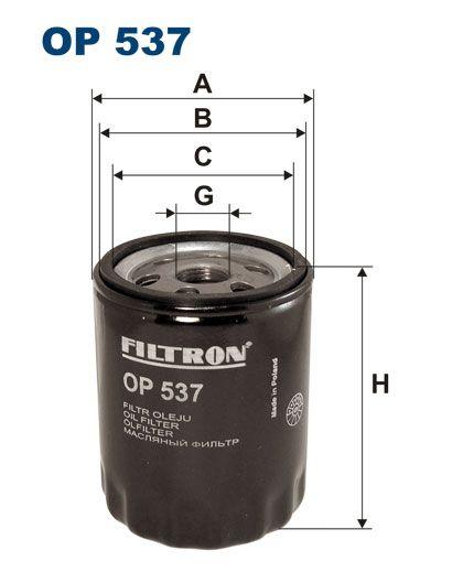 Filtr oleju FI-537 OP