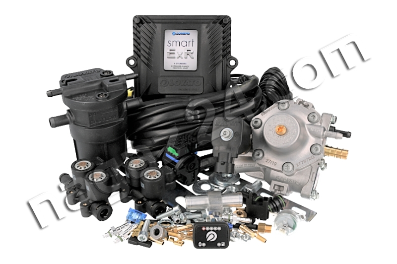 LOVATO - Mini kit LOVATO EXR SMART 4 cylindry, RGJ, wtryskiwacze KP turbo (do 163 KW)